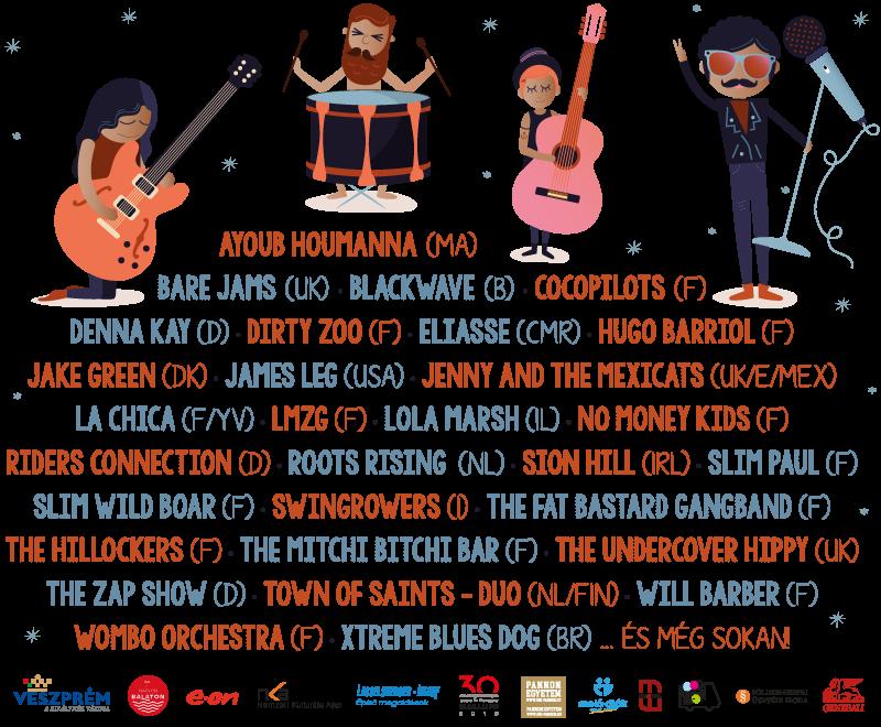 20 éves a Veszprémi Utcazene Fesztivál