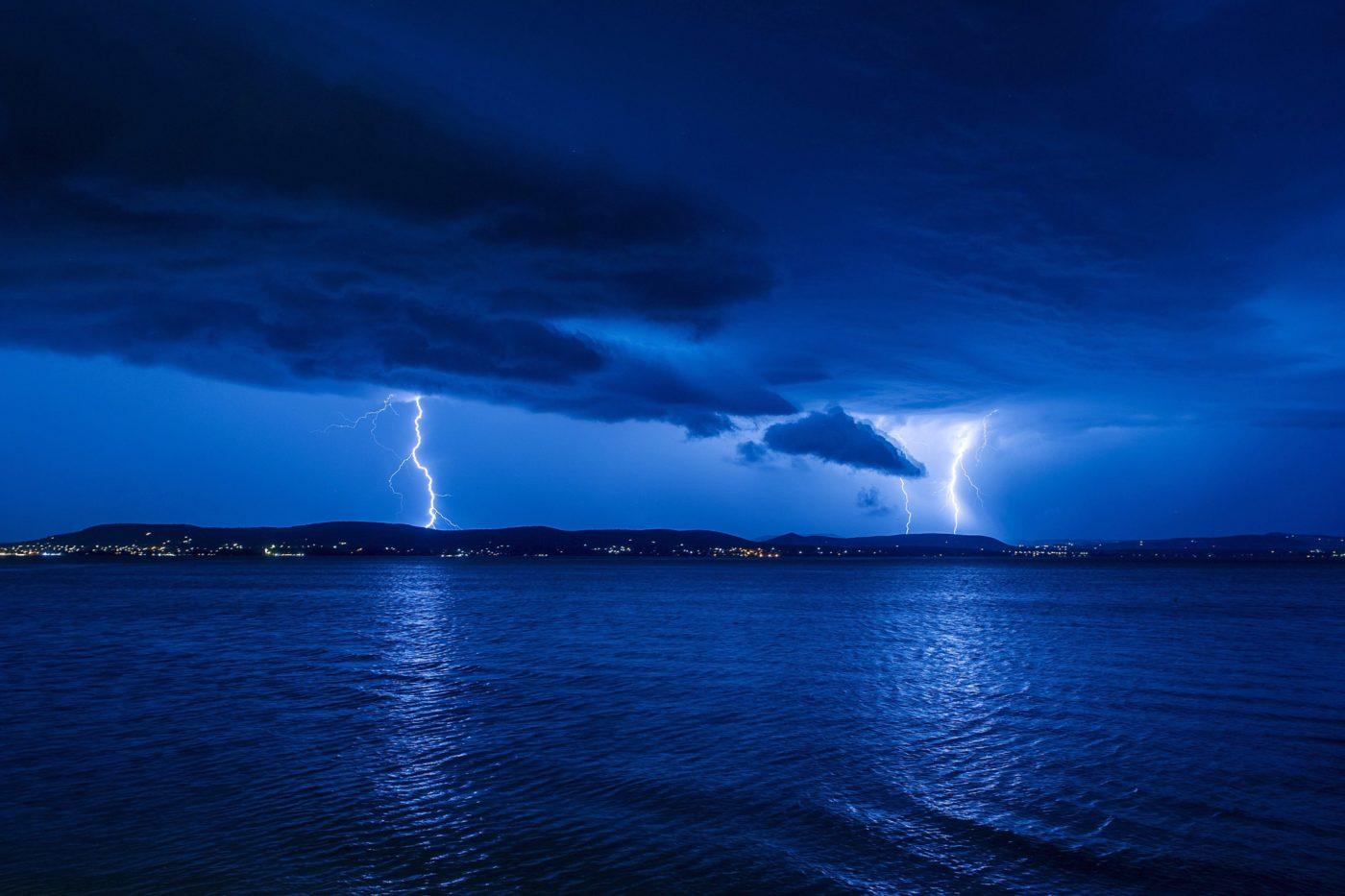 Rövid volt az idei viharjelzési szezon, öt erős vihar csapott le a Balatonnál