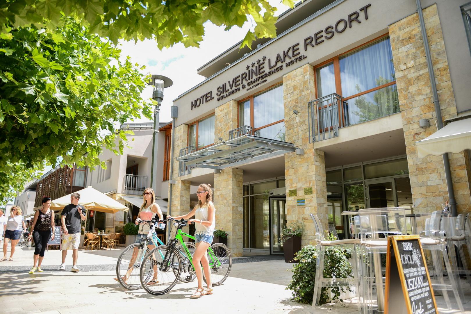A Hotel Silverine Lake Resort lett a közönségkedvenc balatoni hotel