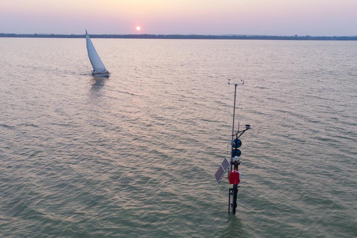 Már épül Balatonfüred új vitorláskikötője