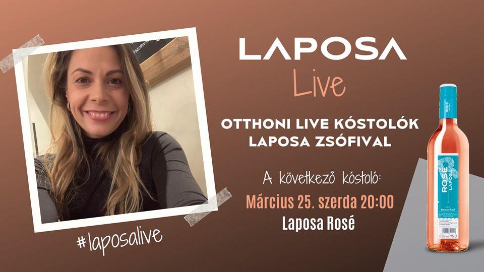 Laposa Live-Otthoni kóstolók  Laposa Zsófival