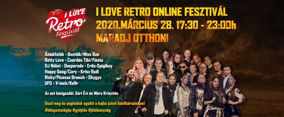 I Love RETRO Online Fesztivál – Maradj otthon Te is!