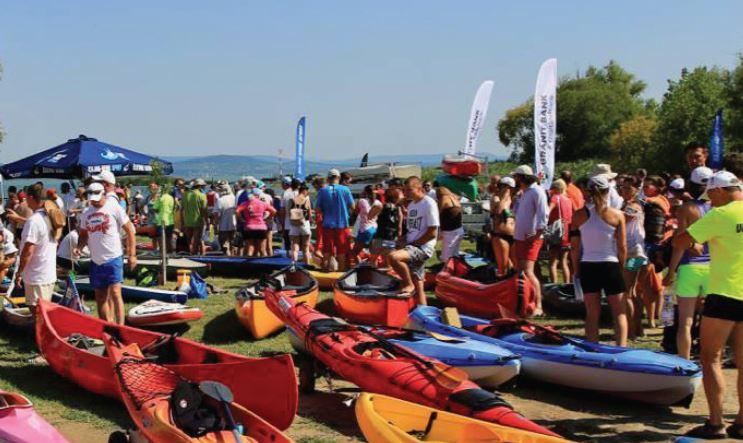 Rekordszámú jelentkező a Balaton-átevezésre