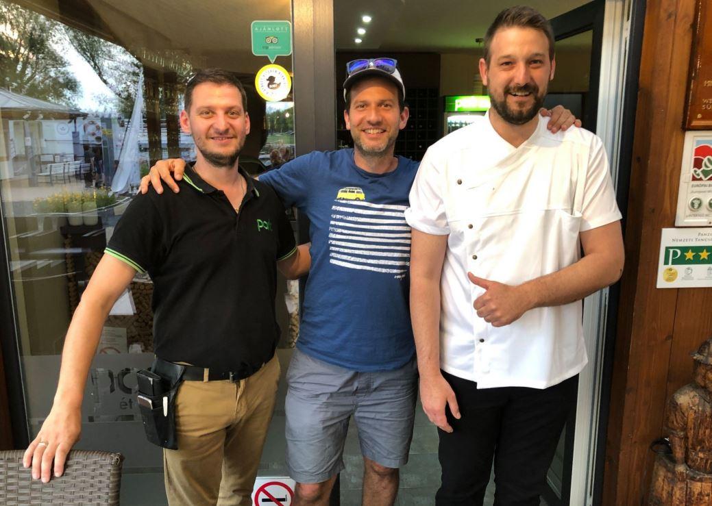 Fördős Zé és Vadon Jani is imádta a déli parti éttermet