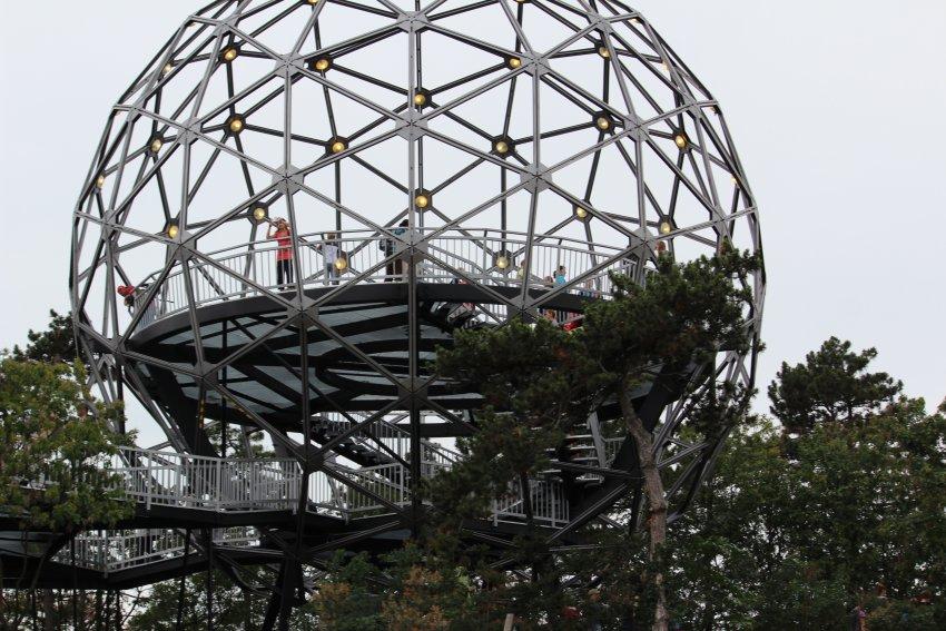 A boglári Gömbkilátó az év kilátója 2020-ban