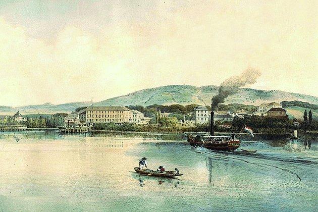 Íme a Balaton első gőzhajójának története