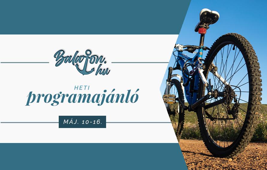 Egész hónapban kerékpáros programok a Balatonon
