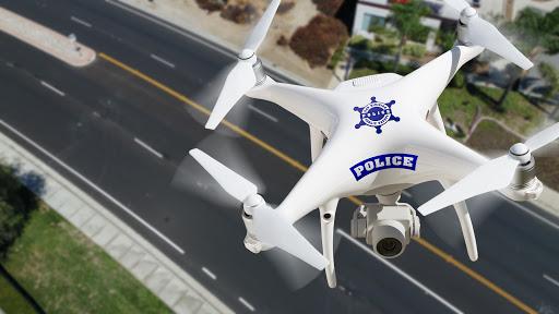 Drónnal vették üldözőbe a siófoki rendőrök a beszívott biciklist