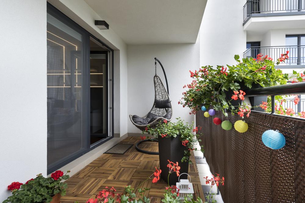 A terasz és az erkély egy oázis is lehet