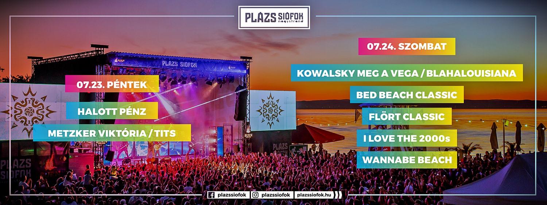 """""""A Plázs az egyik kedvenc nyári koncerthelyszínünk"""" – Halott Pénz koncerttel indul a hétvége Siófokon"""