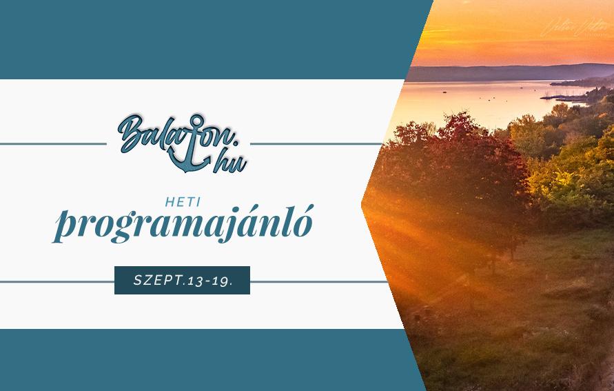 Nyárbúcsúztató fesztiválok a Balaton szerelmeseinek